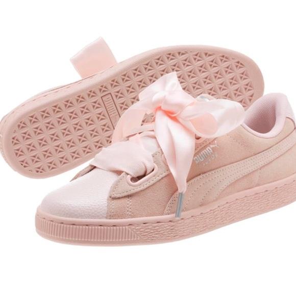 7873757bd82f Pearl bubblegum pink puma suede